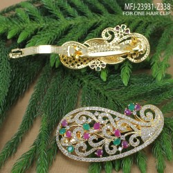 Two Lines Pearls Design Gold Plated Finish Mattel Buy Online