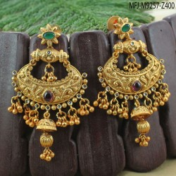 2.4 Size CZ Stones Gold Plated Finish Bangles Buy Online
