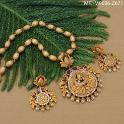 CZ Stones Flowers & Leaves Design Gold Plated Finish Kada Buy Online