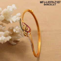 Ruby Stones Gold Plated Finish Designer Bracelet Buy Online