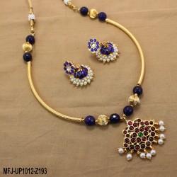 CZ, Ruby & Emerald Stones Peacock Design Hip Belt Buy Online