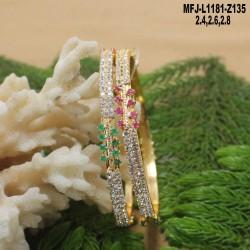 1 Gram Gold Dip CZ & Ruby Stones Ganesh Coins & Flowers Design Necklace Set Buy Online