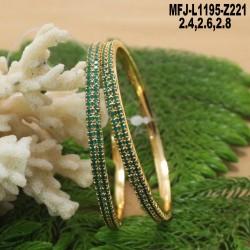 1 Gram Gold Dip Ruby & Emerald Stones Lakshmi & Peacock Design Deepam With Agarbathi Stand Buy Online