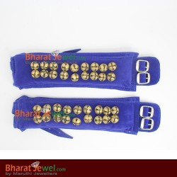 2 Line Bells - Red Colour Ankle  for dance, Brass Salangai | Ghungroos in Online