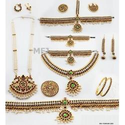 Bharatnayam jewellery full...