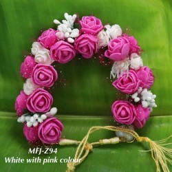 Wight With Red Colour Rose Design 10 Inch Flowers For Dance Online
