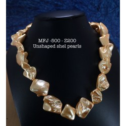 Yellow Coloure Shell Chain...