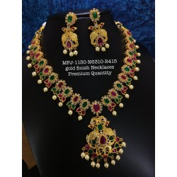 CZ,Ruby&Emerald Stones,With...