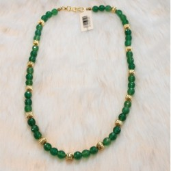 8mm Green Jade Beads