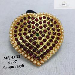 Pearl & Kempu Stone Jada...
