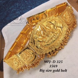Big Size Gold Plated...