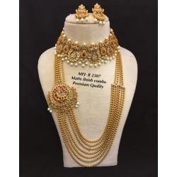 CZ,Ruby Stones Pearls,5/7...