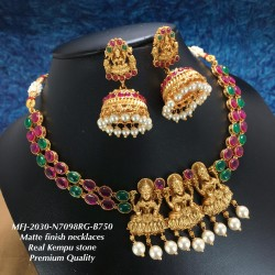 Kempu Stones With Pearls,2...