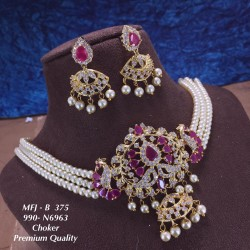 CZ,Ruby Stones,Three Layer...