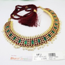 Kempu Stone Nose Ring Nath Bullak Bharatanatyam Dance Ornaments Online