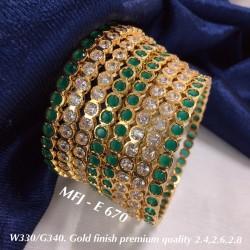 2.8 Size 8 Bangles Gold...