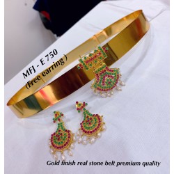Emerald,Ruby Stones Gold...