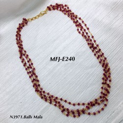 4 Layer Red Crystal Beads...