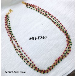 4 Layer Red&Green Crystal...