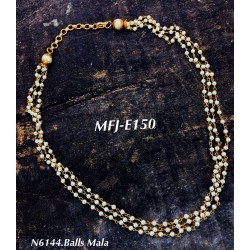 3 Layer pearl Beads...