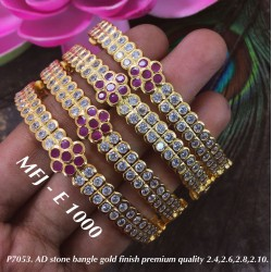 2.4 Size AD Ruby&2 layer CZ...