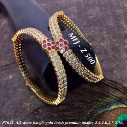 2.6 Size AD Ruby&2 layer CZ...