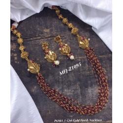 1 Gram Gold Flower Design...