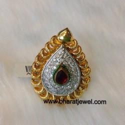 Cz stone Finger Ring