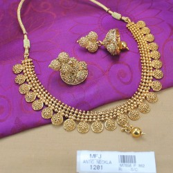 Kerala Design Antique Necklace Set Buy Online
